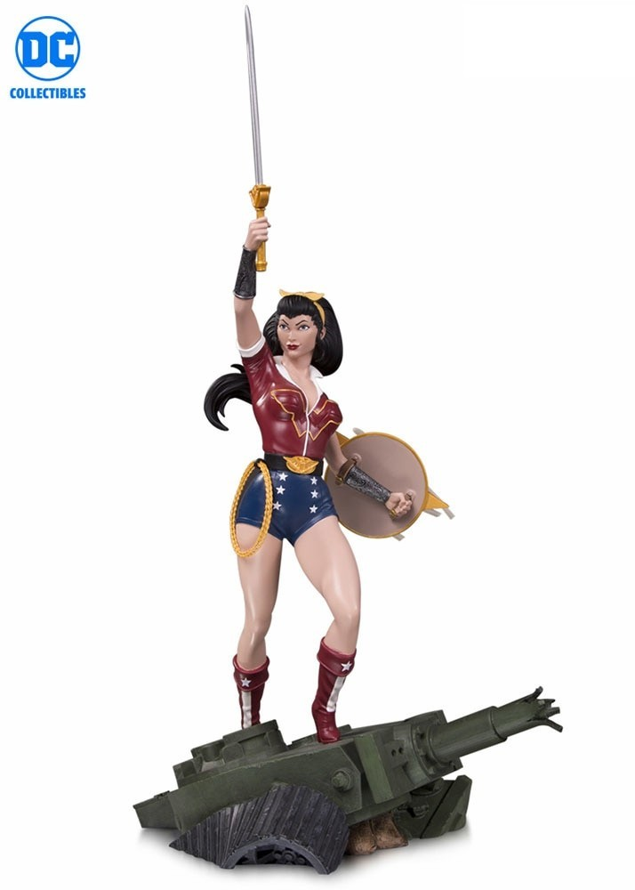 DC Collectibles DC Comics Bombshells Wonder Woman Deluxe Statue